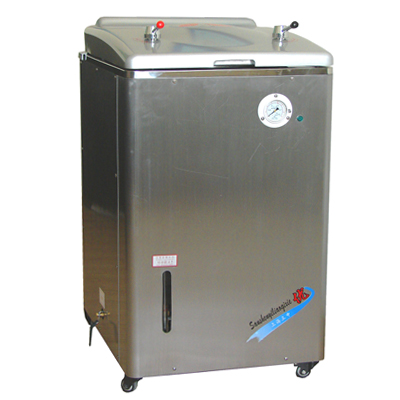 上海三申YM100A立式压力蒸汽灭菌器(普通型)非医用型